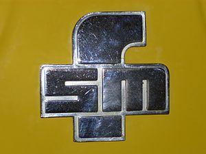 Fabryka Samochodów Małolitrażowych - Image: Emblem FSM an einem Syrena