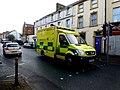 Emergency shout, Omagh (geograph 4824129).jpg