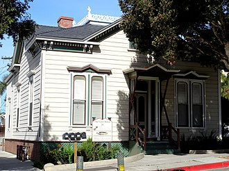 Emmanuel Franz House - The 1880s Italianate Victorian Emmanuel Franz House in Ventura, California