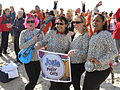 Employees of Marine Corps Air Station New River dress up as Josie and the Pussy Cats during Polar Plunge at Onslow Beach near Marine Corps Base Camp Lejeune, N.C., Jan 120107-M-XX123-004.jpg