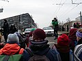 Ende Gelände blockade of the Invalidenstraße at the Sandkrugbrücke 09.jpg