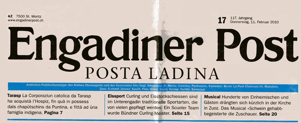 Engadinder-Post-Posta-Ladina