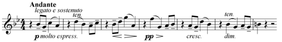 Theme of Enigma Variations