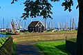 Enkhuizen - Groene Wierdijk - Zuiderzeemuseum - View SE on Jachthaven.jpg