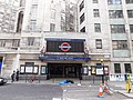 Entrance to 55 Broadway and St James's Park station on north side 1.jpg