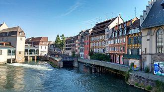 Petite France, Strasbourg - Image: Enxaimel