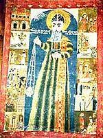 Icona di Sant'Efrem il Siro presente a Meryemana Kilesesi, Diyarbakr, Turchia