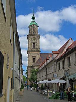 Erlangen Neustädter Kirche Turm