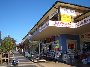 Ermington, New South Wales - Ermington shops on Betty Cuthbert Avenue
