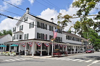 Essex, Connecticut - The Griswold Inn, 2013.