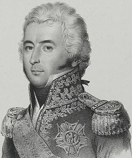 Étienne Marie Antoine Champion de Nansouty French cavalry commander during the French Revolutionary Wars