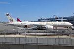 Etihad Airways, A6-ETK, Boeing 777-3FX ER (20186495401).jpg