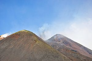 Etna eruptions April 2012