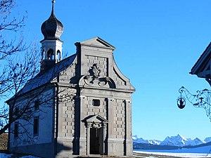 Meinrad of Einsiedeln - Meinrad chapel on Etzel Pass
