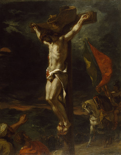 File:Eugène Delacroix - Christ on the Cross - Walters 3762 (2).jpg
