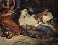 Eugène delacroix, scena di massacro a scio, famiglie greche che attendono la morte o la schiavitù, 1824, 12.jpg