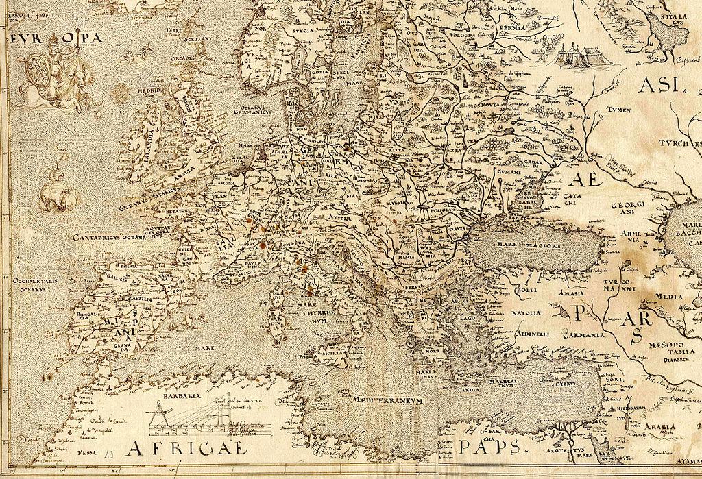 FileEurope map ca1570jpg  Wikimedia Commons
