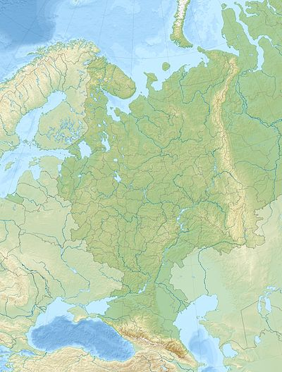 4th Panzer Army is located in European Russia