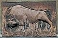 European bison (relief), 1936 designed by Konstanty Laszczka, 7 Komorowskiego street, Krakow, Poland.jpg