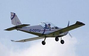 Evektor SportStar - Eurostar EV-97 in flight