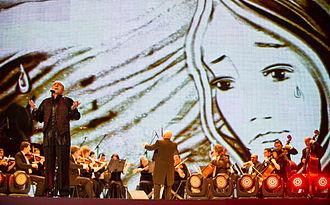 Sari Gelin - Image: Eurovision Song Contest 2012, semi final allocation draw