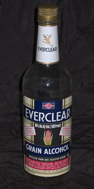Everclear (alcohol) - Image: Everclear Hi Res