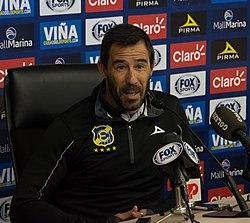 Everton - Unión Española, 2018-04-28 - Pablo Sánchez - 02.jpg