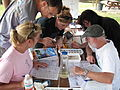 Everyone getting in on macroinvertebrate identification (4976934031).jpg