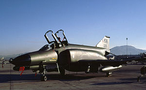 831st Air Division - Wild Weasel F-4 Phantom at George AFB in 1987