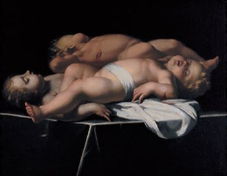 Francesco Gessi - Sleeping Putti.