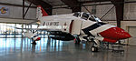 F4 Phantom in USAF Thunderbird colors (5732720060).jpg