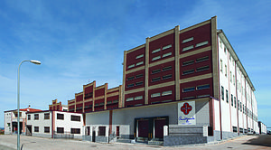BEHER (ham) - BEHER headquarters in Guijuelo.
