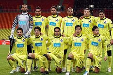 Rodriguez, primo in basso a destra, in una delle formazioni del Porto del 2010-2011