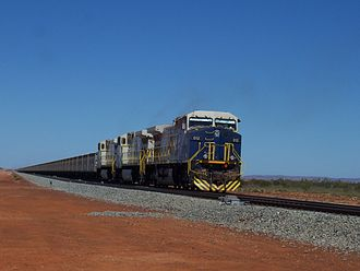Fortescue Metals Group - FMG iron ore train, 2008