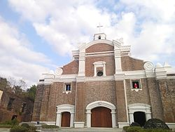 Facade of the church of Dingras