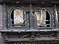 Facade with Ornamental Carving - Thamel District - Kathmandu - Nepal (13464805215).jpg