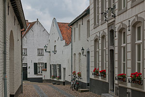 Thorn, Netherlands - The Daalstraat (daalstreet) in Thorn