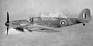 Stanley Orr - Fairey Fulmar two seater fighter