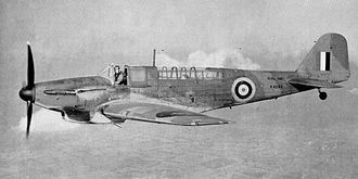 Operation EF (1941) - Image: Fairey Fulmar Mk I (M4062)