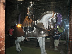 Royal Armouries - Part of the display at the Tower of London