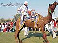 Famous Saraiki character Jatwal Ride on Camel.jpg