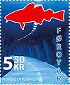 Faroese stamp 566 Northern Isles Tunnel.jpg