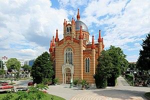Matzleinsdorf Protestant Cemetery - The Cemetery chapel Christuskirche