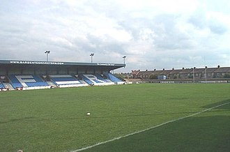 1995 Rugby League Emerging Nations Tournament - Image: Featherstone Rovers Rugby Ground, Featherstone geograph.org.uk 223813