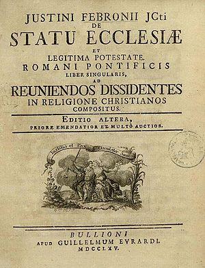 Hontheim, Johann Nikolaus von (1701-1790)