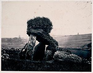 Fenagh, County Leitrim - The Dolmen at Fenagh, c.1858