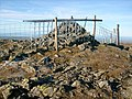 Fence on the summit of Great Calva - geograph.org.uk - 1060901.jpg