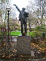 Fenner Brockway statue, Red Lion Square WC1 - geograph.org.uk - 1318008.jpg