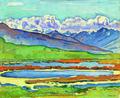 Ferdinand Hodler Vue de Monatana. Öl. 1915. Kornfeld Auktion Juni 2011.tif