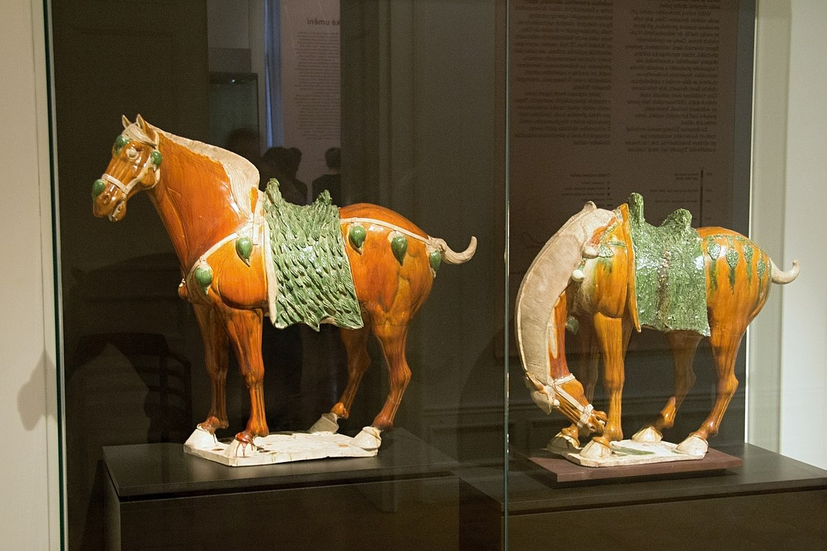Tang Standing Horse Figure  Canberra